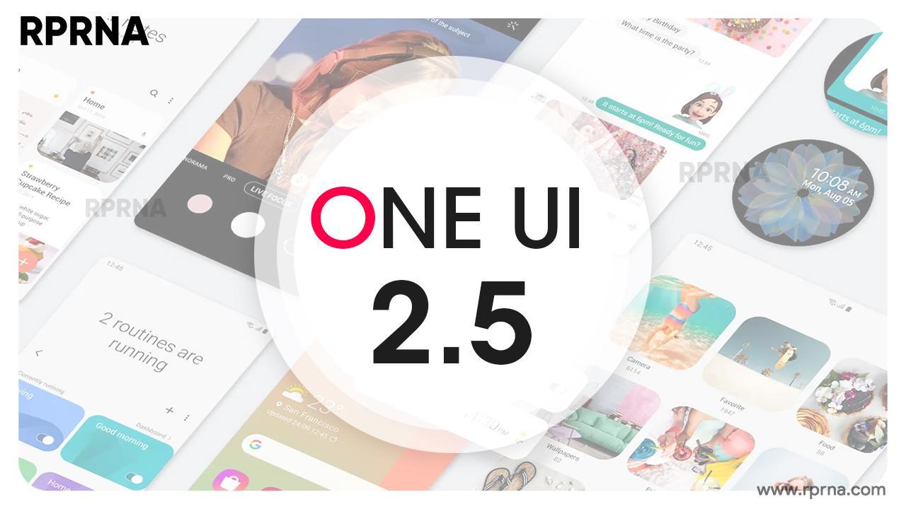 Samsung обновляет 4 популярныхсмартфона доOne UI2.5