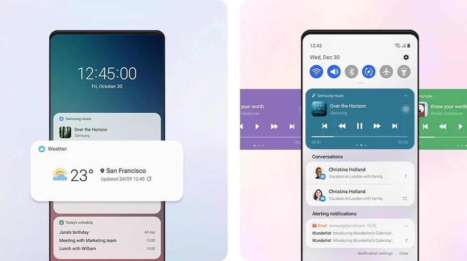 Названа дата выхода Samsung One UI3.0 для смартфонов. Смотрим наинтерфейс