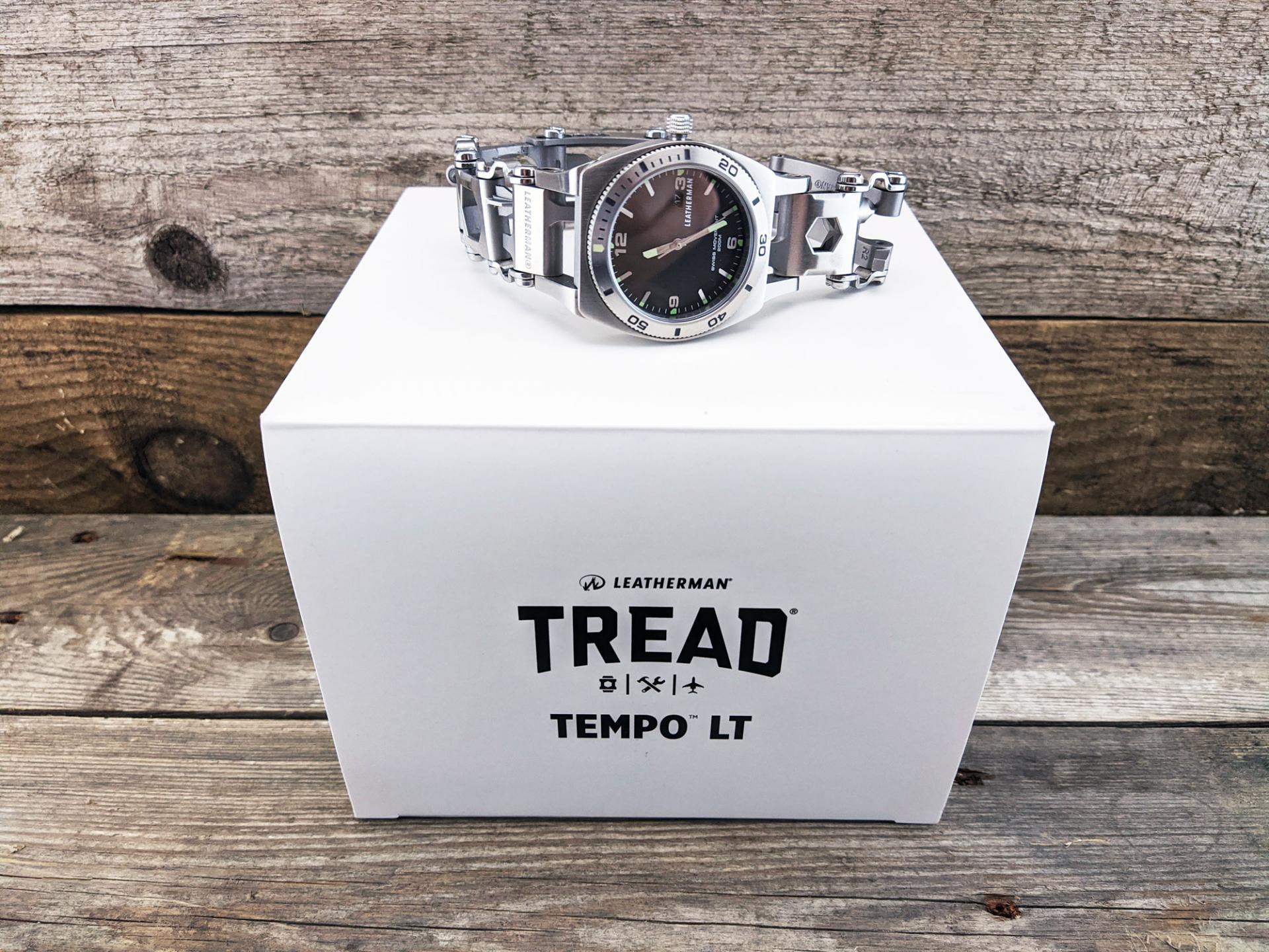 Обзор мультитула-часов Leatherman Tread Tempo LT