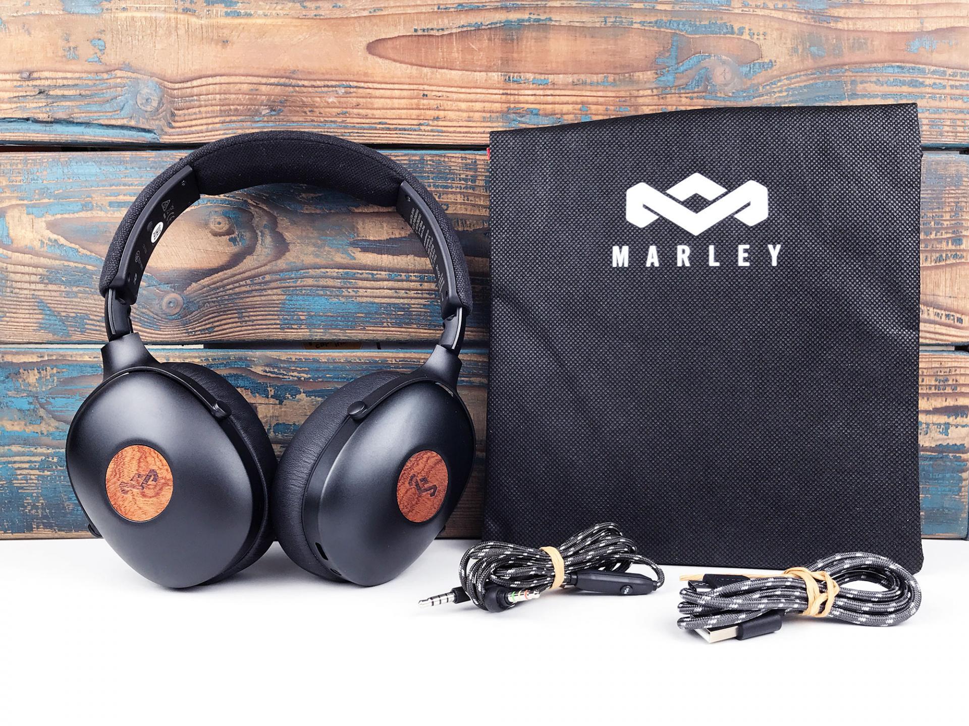 Обзор наушников House of Marley Positive Vibration XL