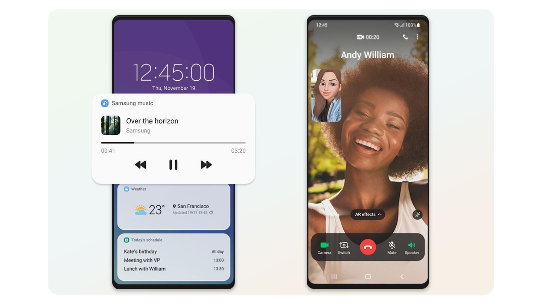 Samsung One UI3.1: что интересного нашли вобновлении оболочки