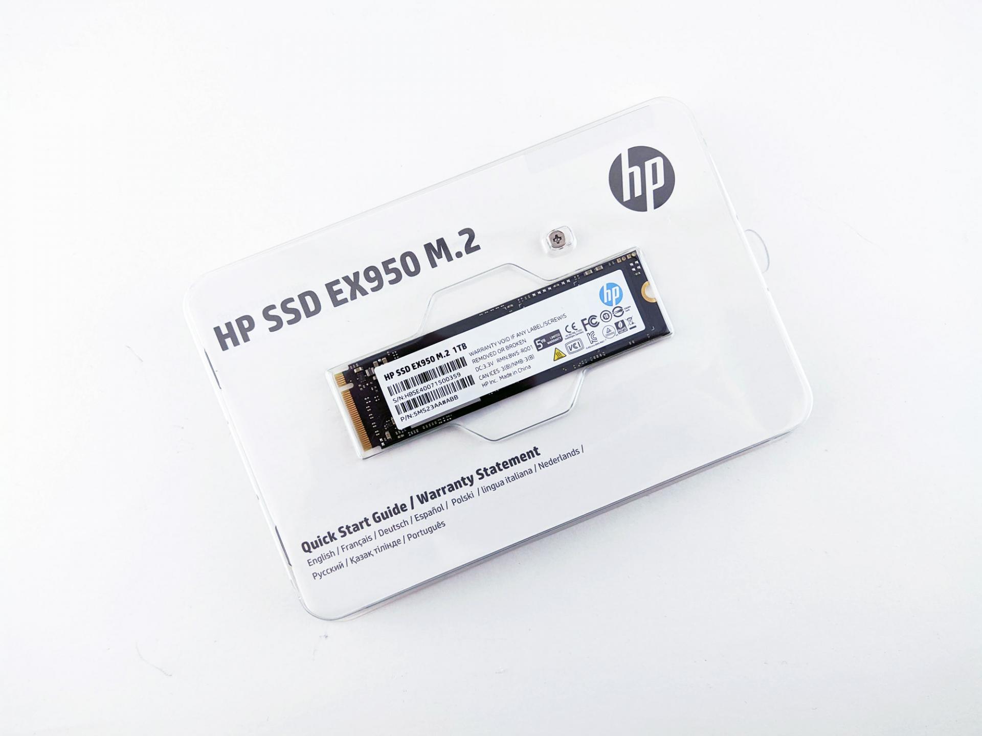 Тест-драйв SSD HPEX950