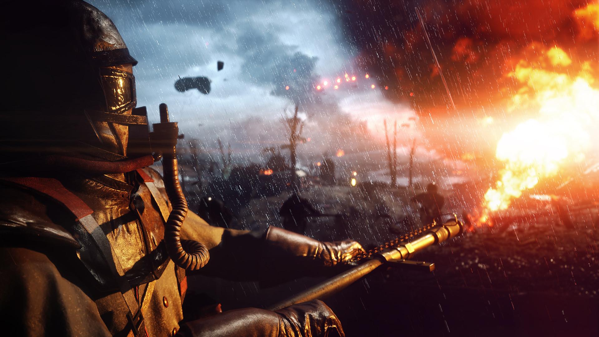 Всети появилось видео Battlefield 1 сприменением технологии трассировки лучей