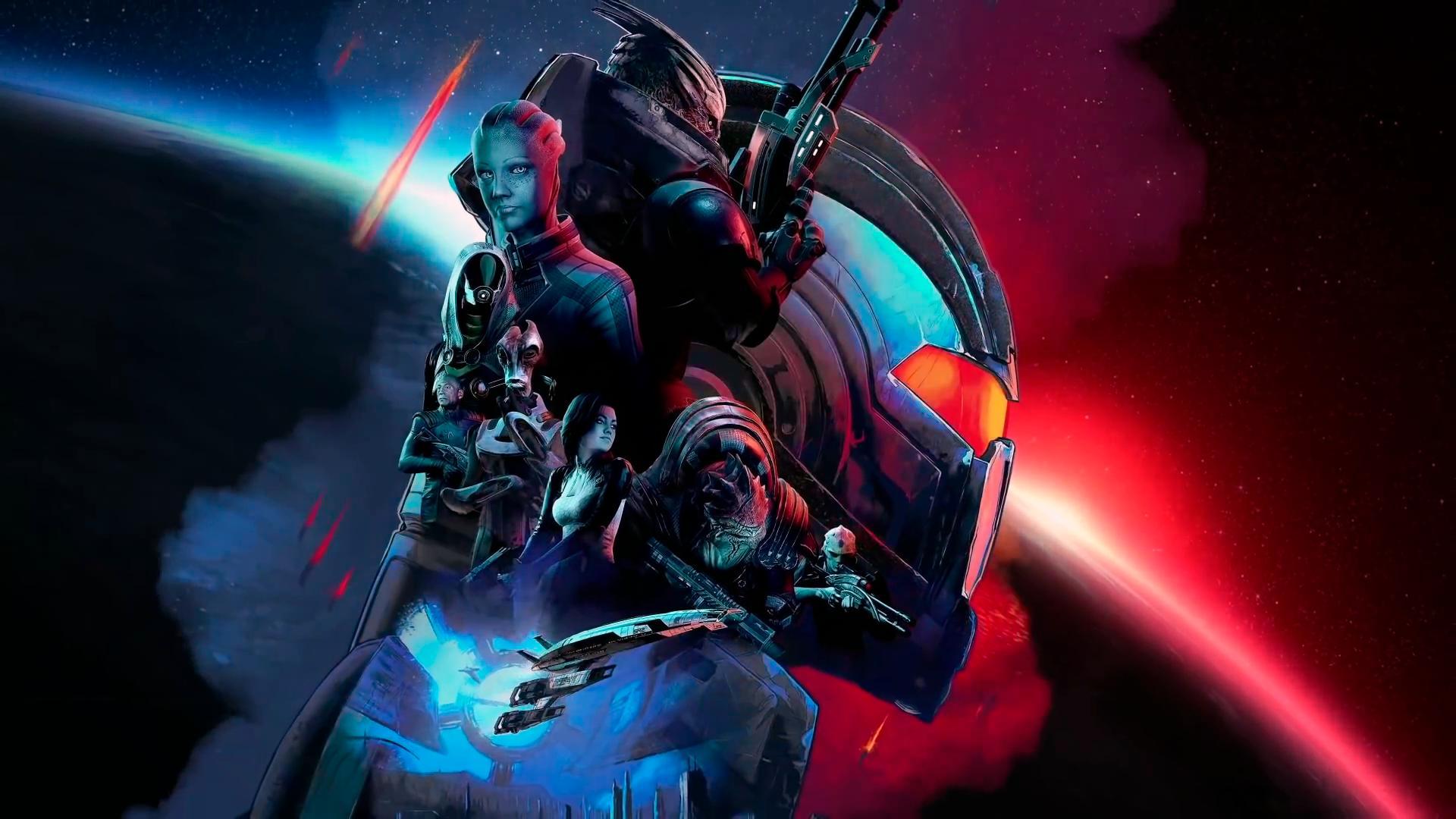 Сборник Mass Effect Legendary Edition выйдет одновременно скрупным патчем