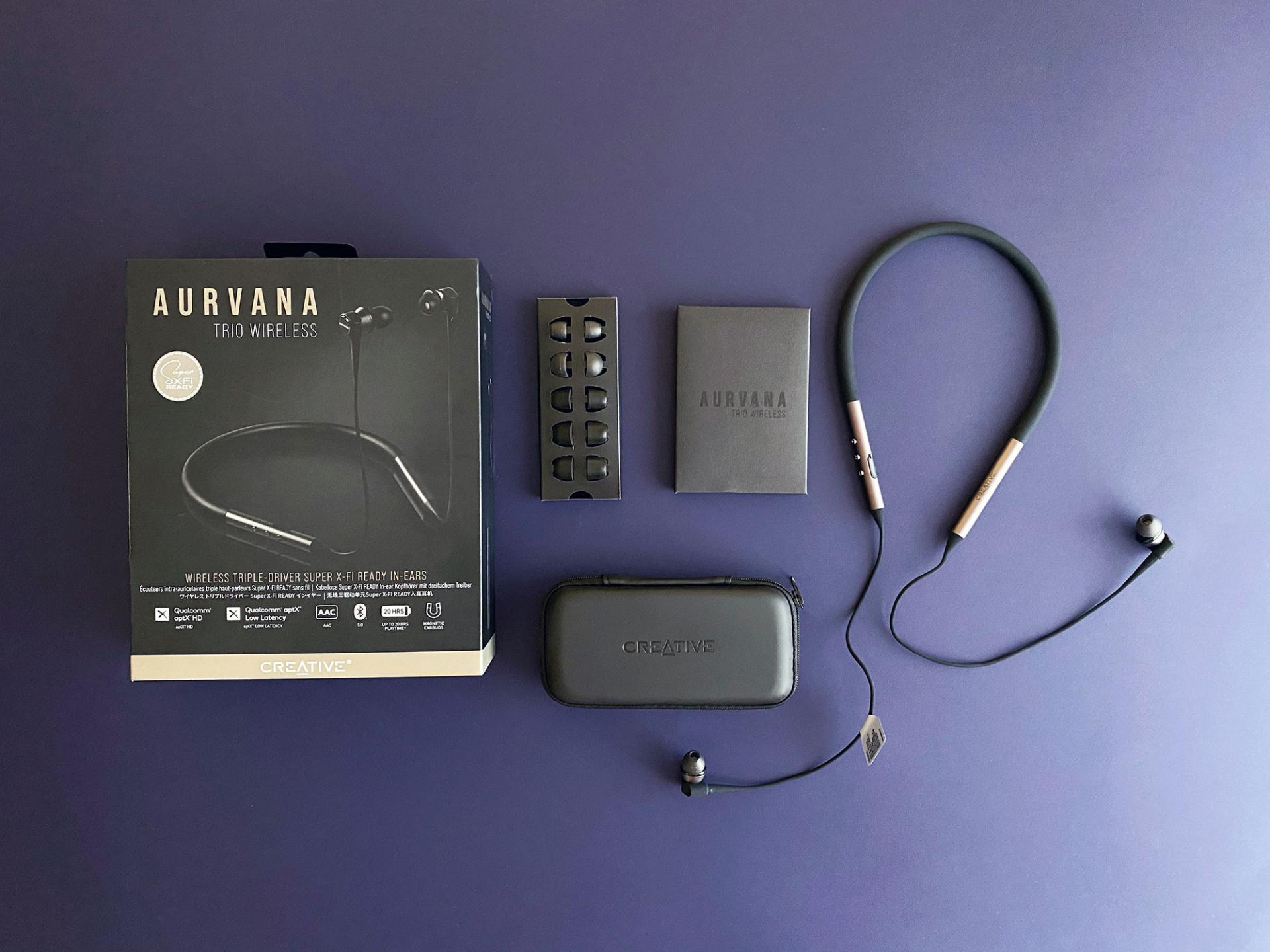 Тест-драйв беспроводных наушников Creative Aurvana Trio Wireless