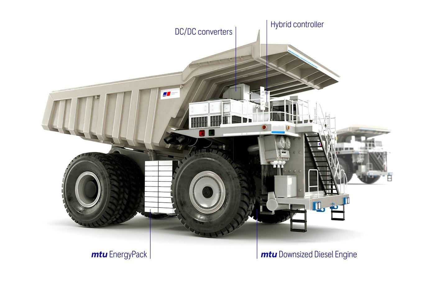 Rolls-Royce запускает впроизводство новый индустриальныйгибридный грузовик